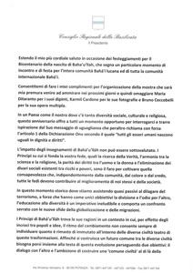 <p>Messaggio del Presidente&nbsp;del Consiglio Regionale della Basilicata, Francesco Mollica (1) continua...</p>
